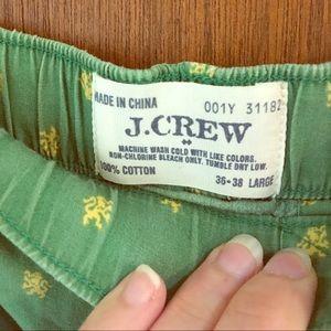 JCrew flannel pants